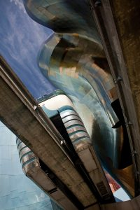 Conchi Martínez Project: Museum of Pop Culture (formerly known as the EMP Museum) by architect Frank Gehry, Seattle, USA