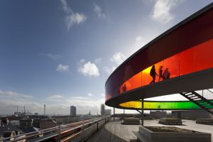 David Borland Project: ARoS Aarhus Kunstmuseum, Museum, Aarhus, Denmark by schmidt hammer lassen. Olafur Eliasson