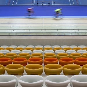 Martine Hamilton Knight Project: Derby Arena Velodrome, UK by Faulkner Browns Architects
