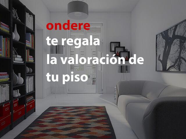 ondere inmobiliaria valora tu piso en bilbao
