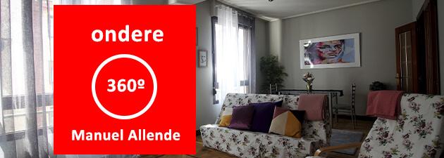 Piso venta Bilbao centro manuel allende indautxu ondere inmobiliaria