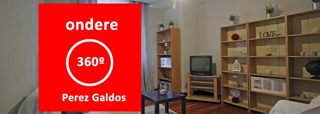 Piso en venta Bilbao centro indautxu perez galdos