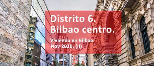 Situacion precios pisos bilbao centro.Ondere inmobiliaria.